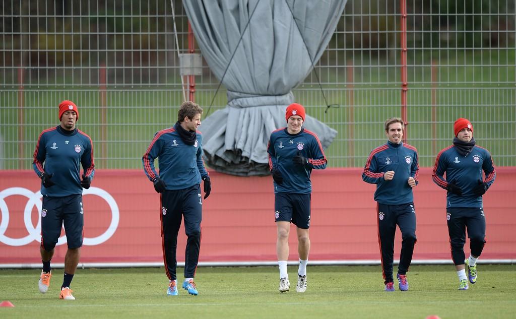FC Bayern Muenchen - Training