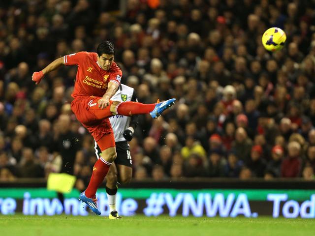 Liverpool-v-Norwich-Luis-Suarez-first-goal-pa_3046358