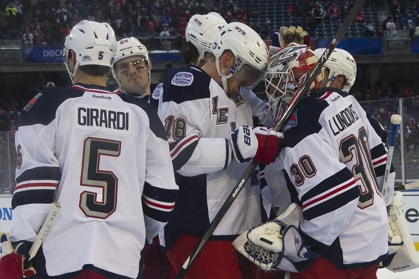 Ottaako Rangers voiton Islandersista (Alloverpress)