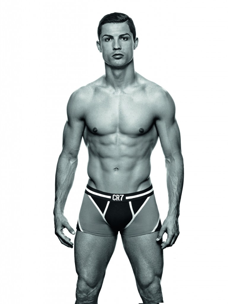 Cristiano Ronaldo launches his CR7 by Cristiano Ronaldo Underwear line at Palacio de Cibeles. The collection will be available worldwide from 1st November Featuring: Cristiano Ronaldo When: 31 Oct 2013 Credit: Supplied by WENN.com **This is a PR photo. WENN does not claim any ownership including but not limited to Copyright or License in the attached material. Fees charged by WENN are for WENN's services only, and do not, nor are they intended to, convey to the user any ownership of Copyright or License in the material. By publishing this material you expressly agree to indemnify and to hold WENN and its directors, shareholders and employees harmless from any loss, claims, damages, demands, expenses (including legal fees), or any causes of action or  allegation against WENN arising out of or connected in any way with publication of the material**