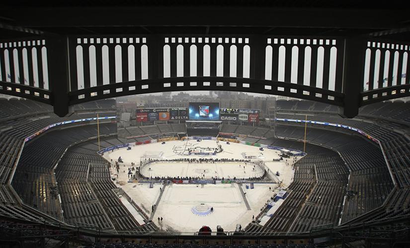 Rangers ja Devils kohtaavat tänään Yankee Stadiumilla
