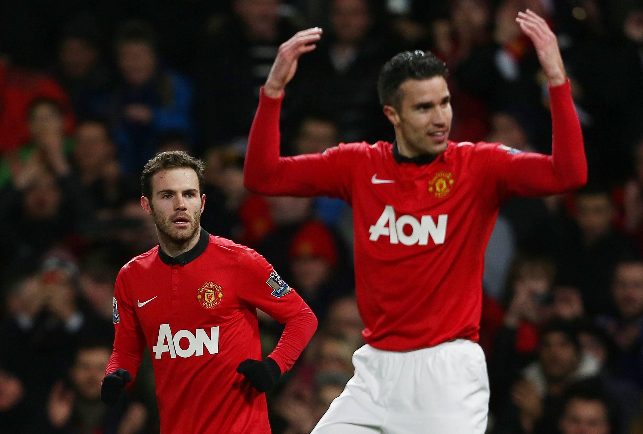 Stoke saa tänään vastaansa van Persien, Matan sekä Rooneyn (All Over Press)