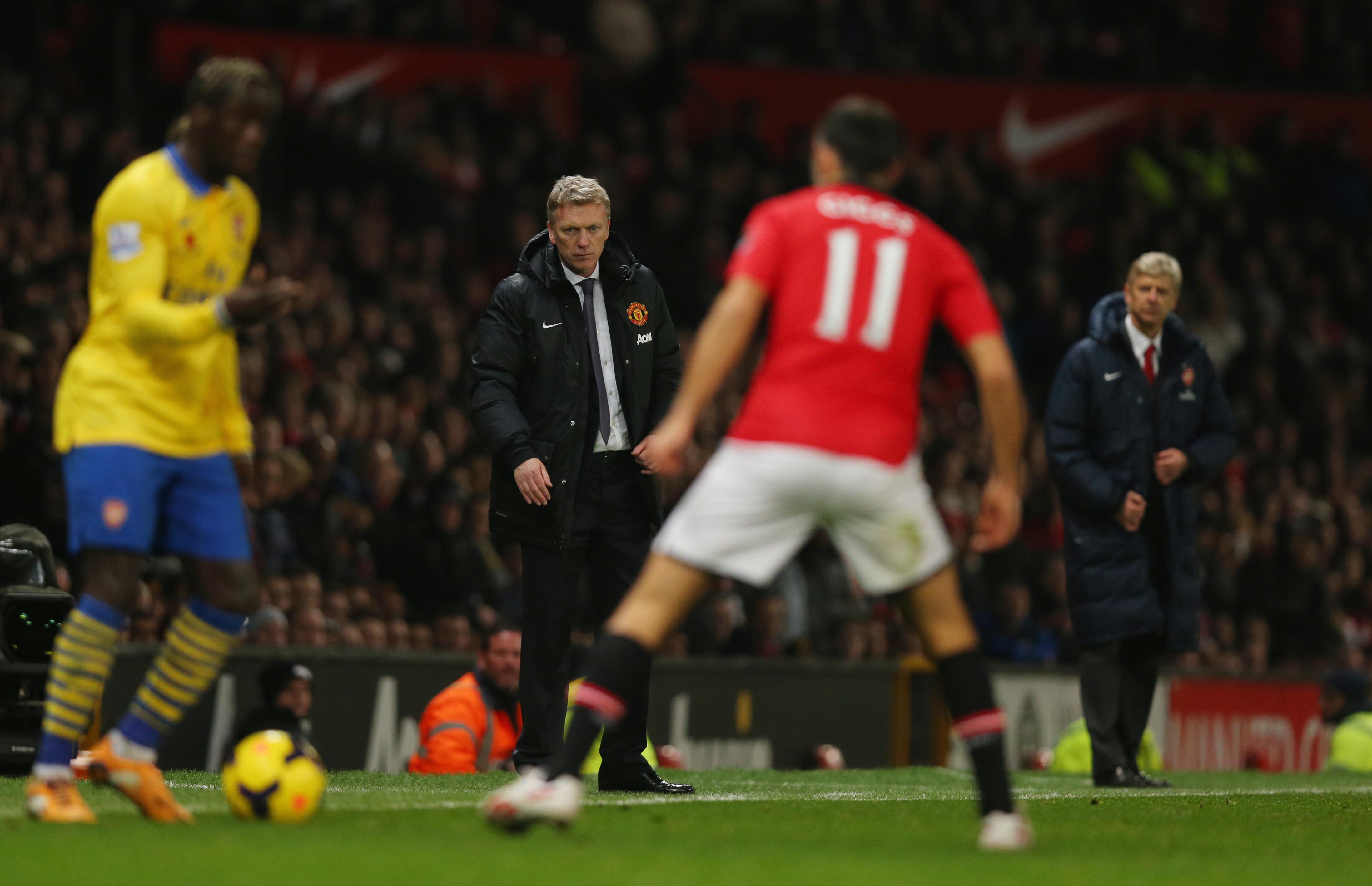 Moyes vs Wenger (All Over Press)