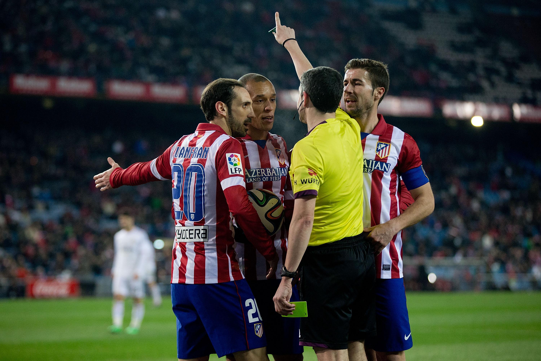 Tunteet kävivät kuumana Realia vastaan pelatussa Cope Del Reyn toisessa ottelussa (Gettyimages)