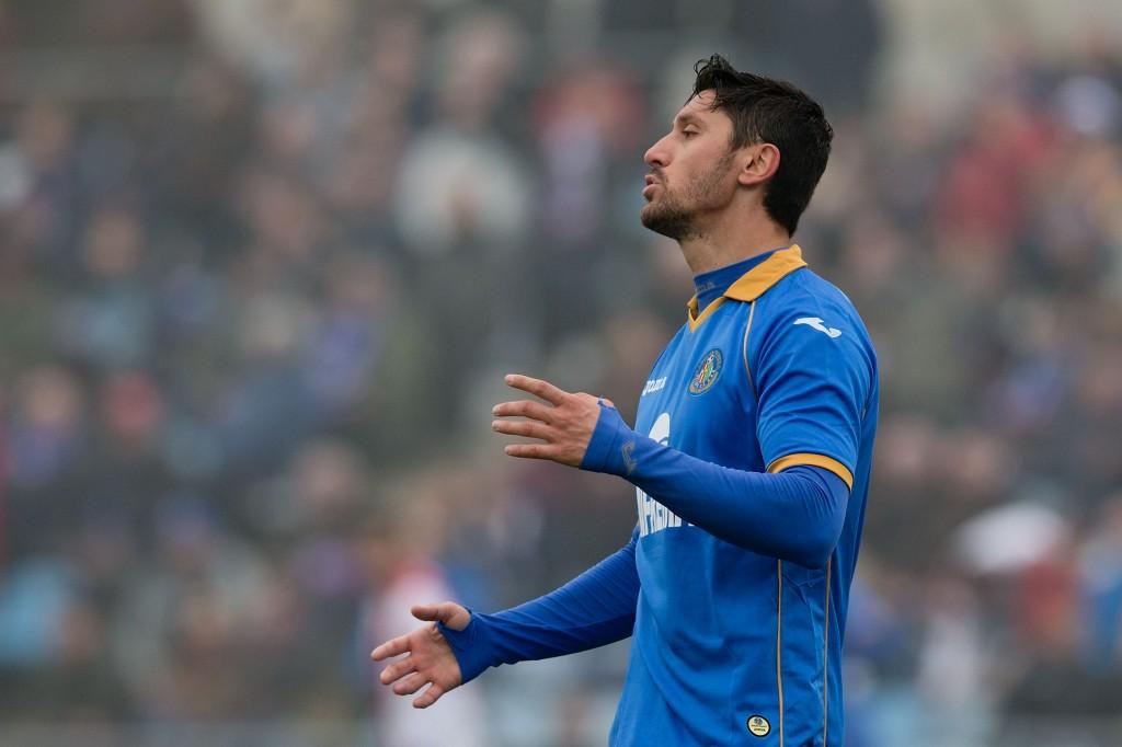 Getafen ja Romanian kärki Ciprian Marica on nakuttanut Espanjassa kaksi maalia 9 ottelussa (Getty Images)