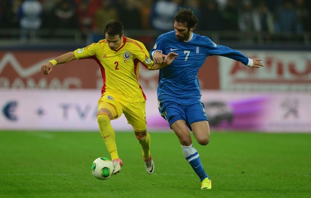 Kreikan ja Celticin kärki Georgios Samaras tulee olemaan ratkaisijan roolissa F-lohkossa (Getty Images)