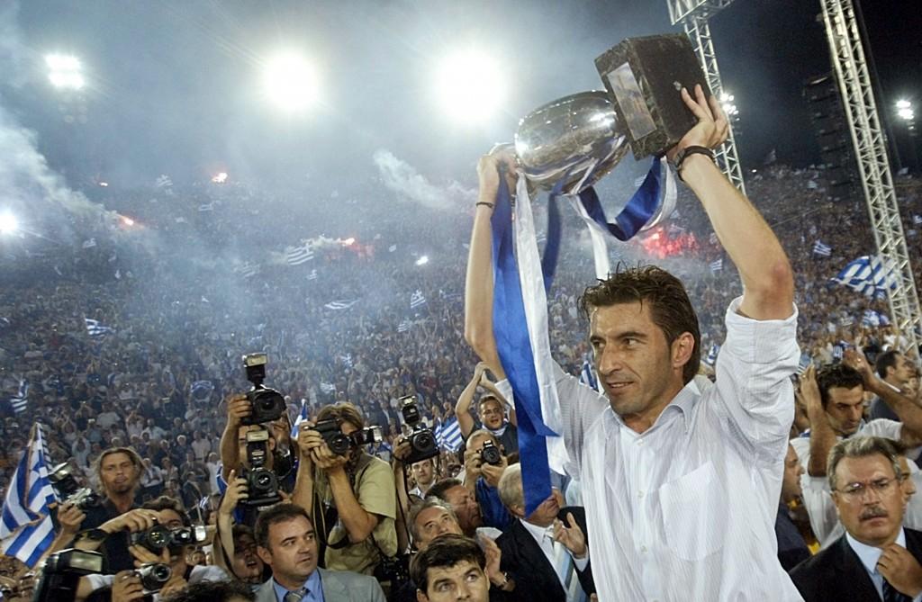 Kreikka sekosi Euroopan mestaruudesta 2004 (Getty Images)