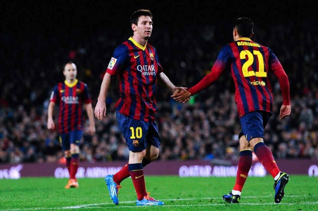 Leo Messi on taas kunnossa ja peli luistaa (Getty Images)