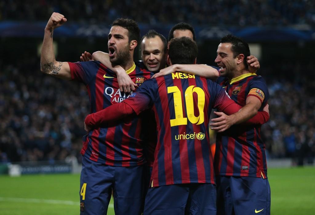 Messi nakutti tärkeän vierasmaalin Man Cityä vastaan (Getty Images)