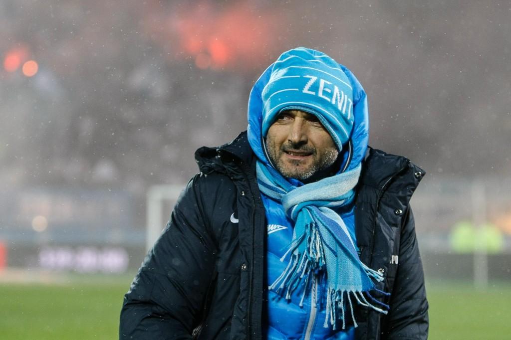 Päävalmentaja Spalletti on joutunut kokemaan paljon uusia asioita Pietarissa (Getty Images)