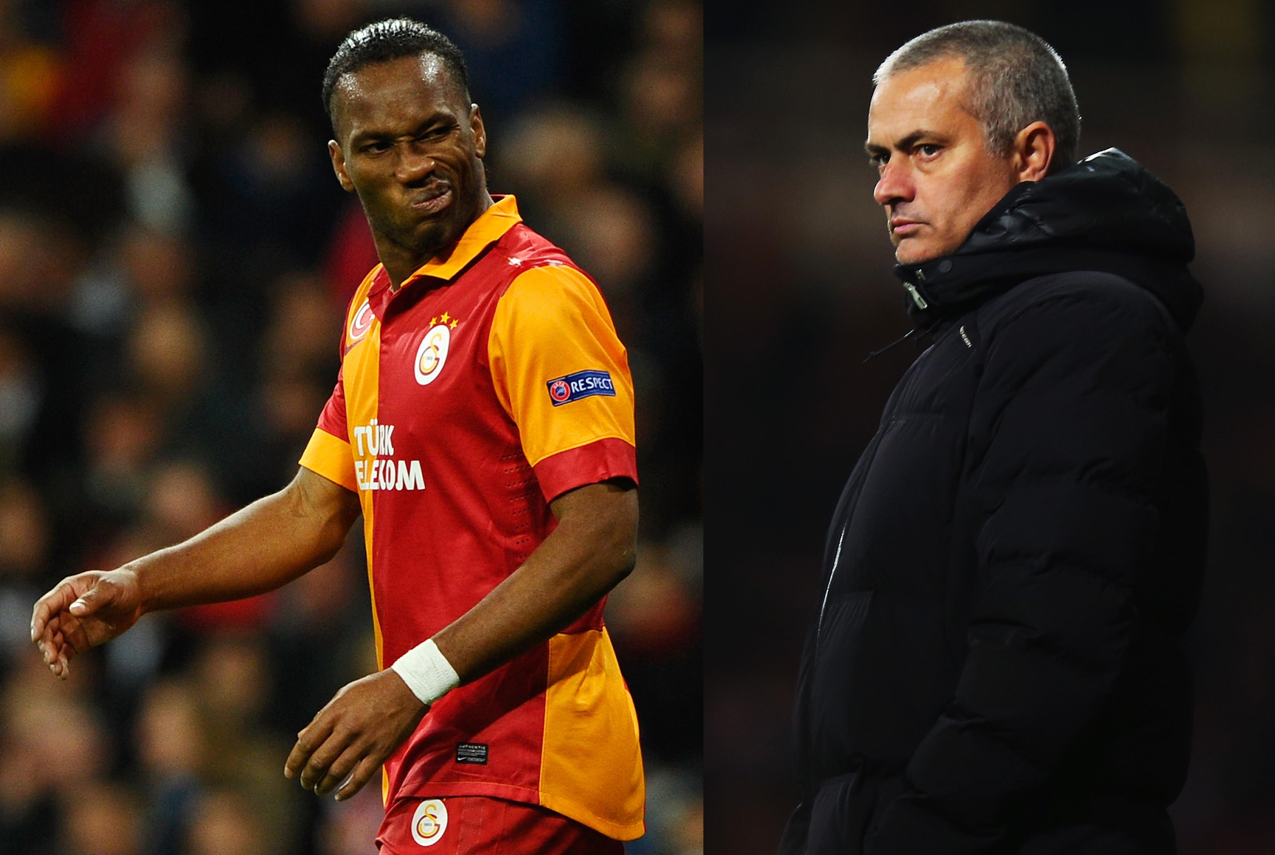 Mourinho ja Drogba kohtaavat jälleen (Getty)