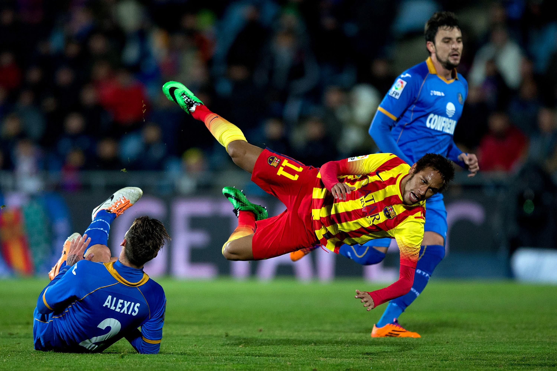 Neymar sai peliluvan otteluun (Getty images)