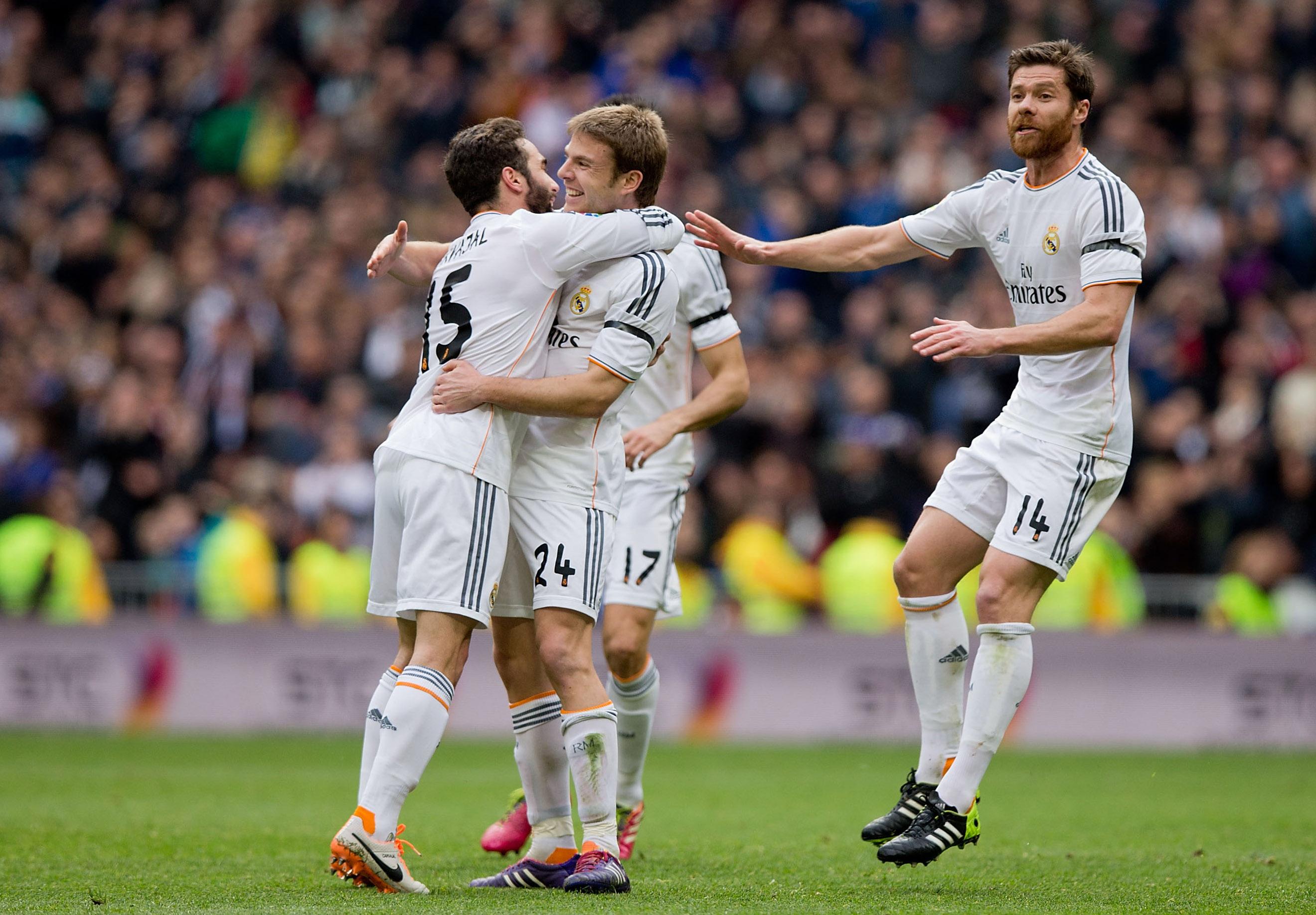 Real Madrid siirtyi Espanjassa sarjakärkeen (Getty)
