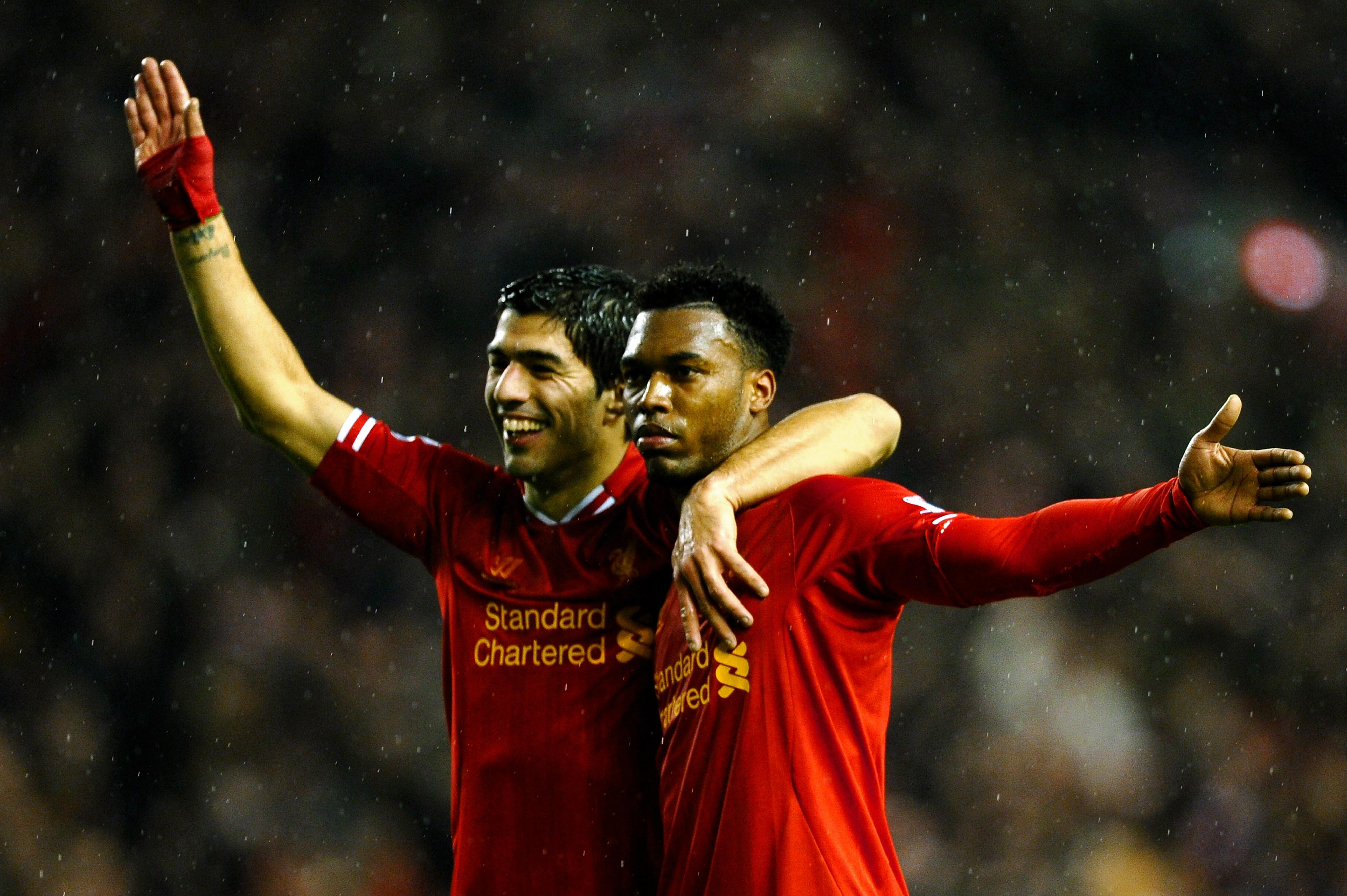 Suarez ja Sturridge eivät pysähdy Swansean puolustukseen (Getty)