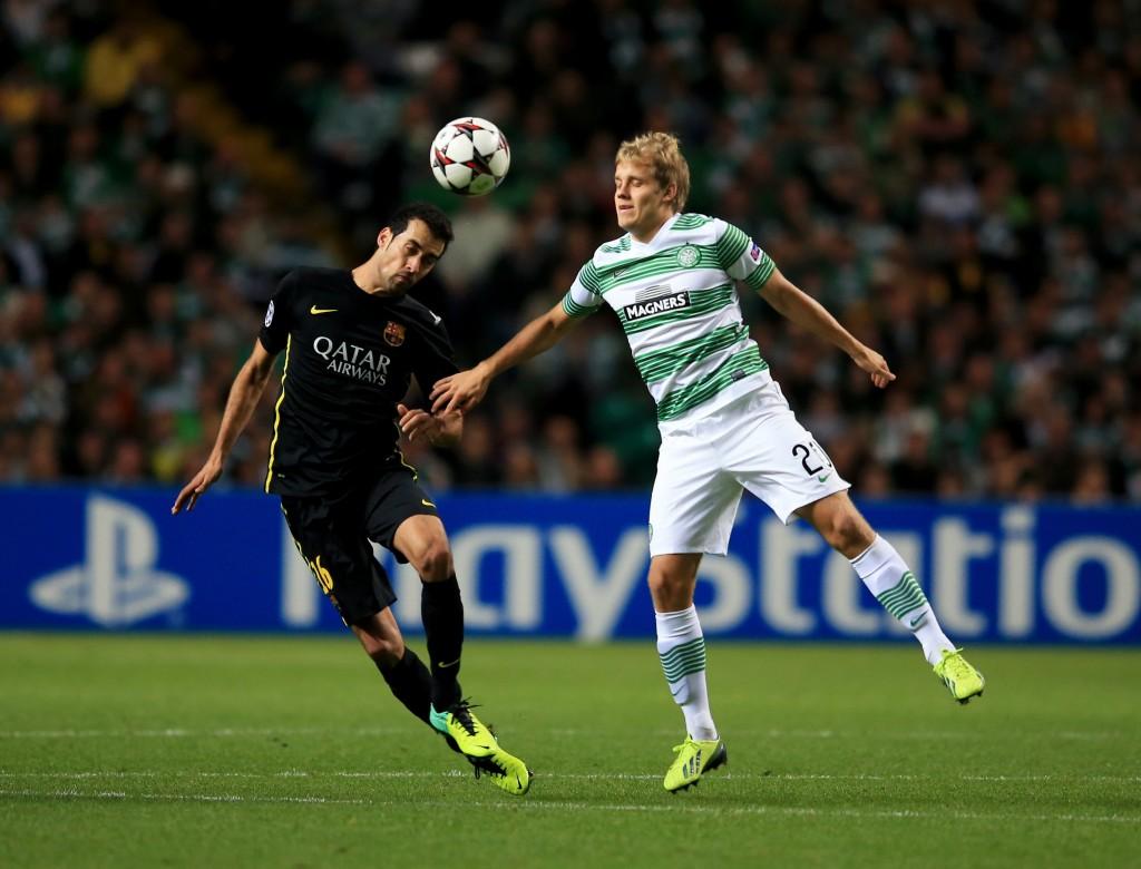 Onnistuuko Teemu Pukki murtamaan Leverkusenin puolustuksen kuten Barcelonankin? (Getty Images)