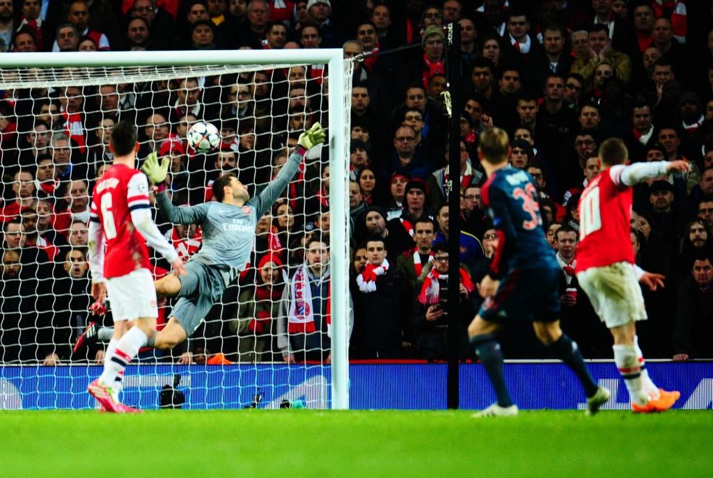 Toni Kroosin upea laukaus upotti Arsenalin ensimmäisessä osaottelussa. Kuva: All Over Press