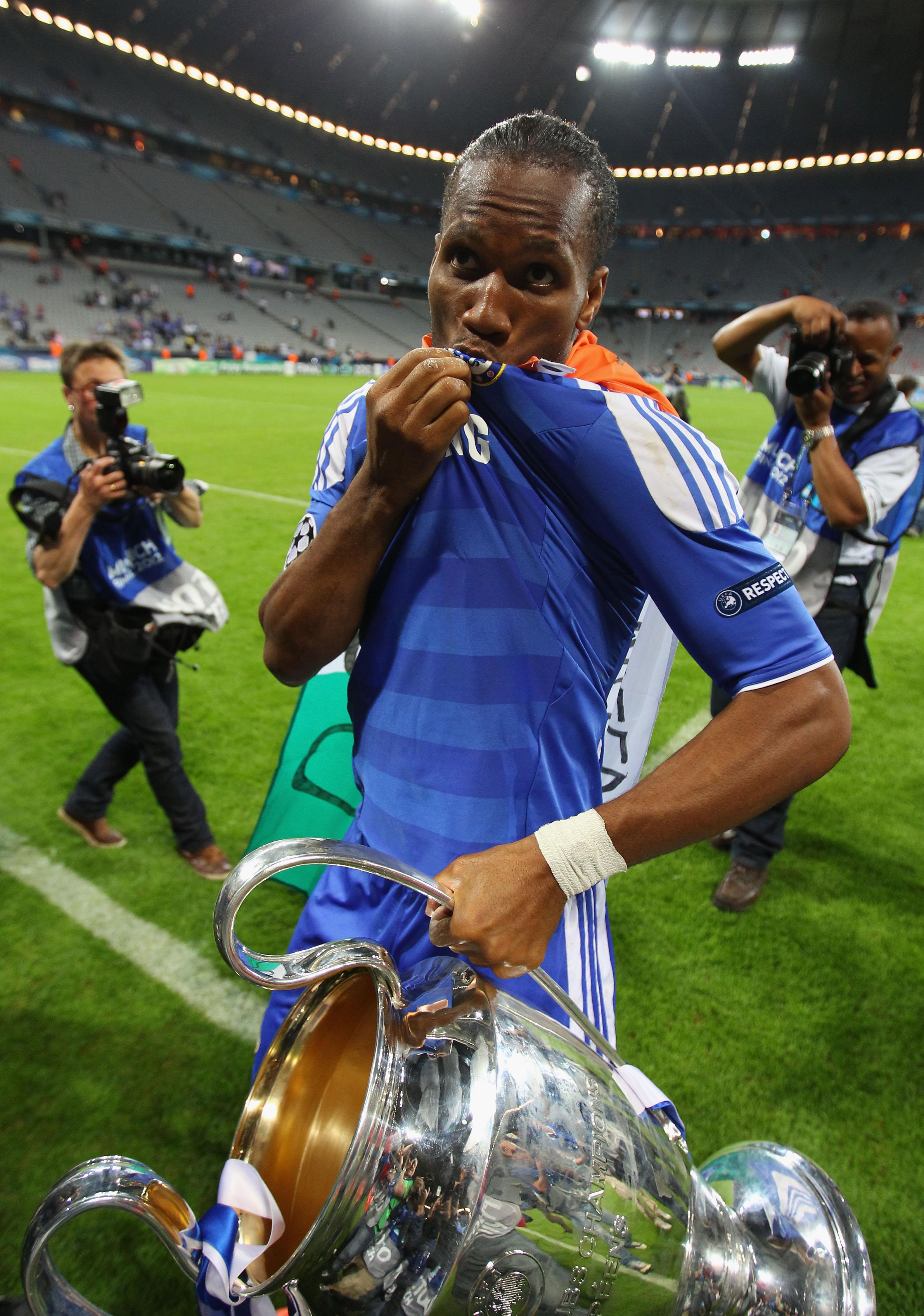 Drogba tykkäsi Chelseasta (Getty)