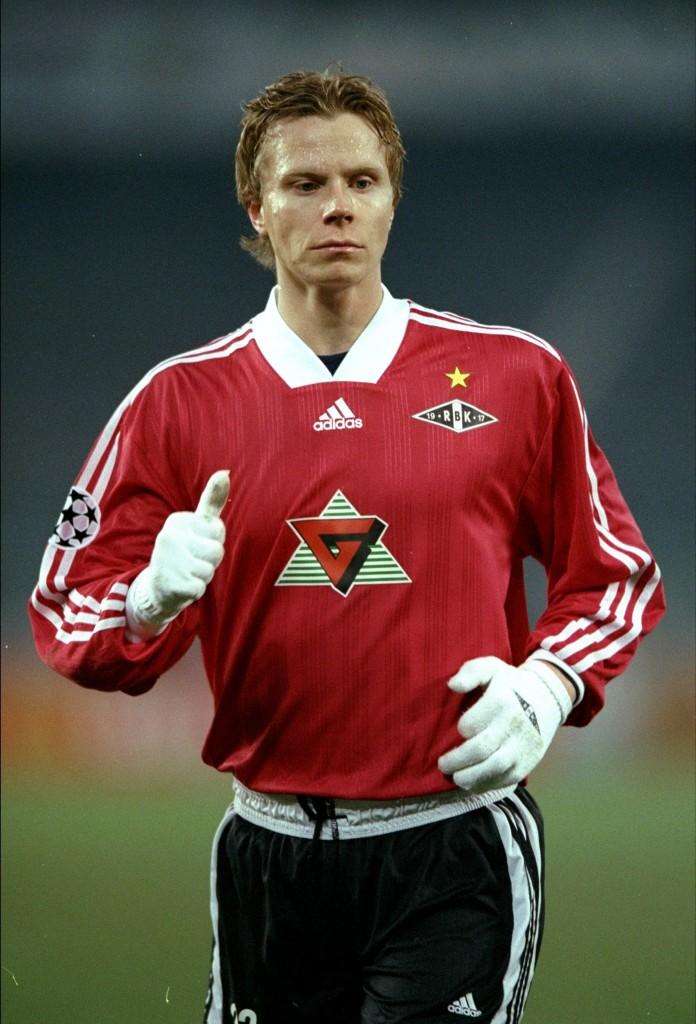 Morten oli Rosenborgin tähtenä Juvetusta vastaan 1998 (Getty Images)
