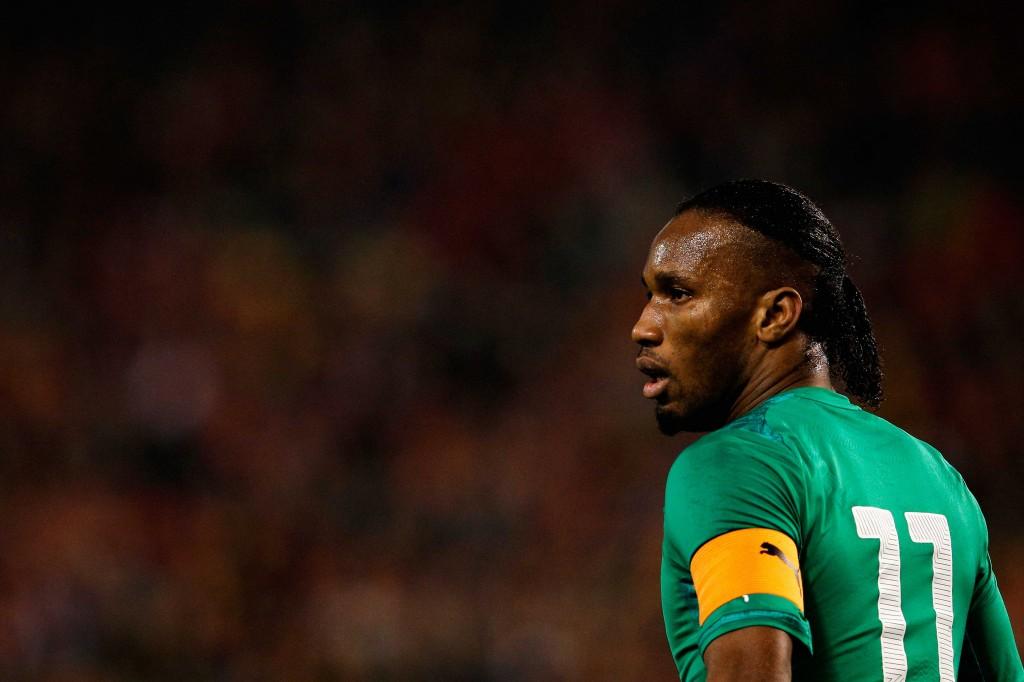 Didier Drogba pelaa todennäköisesti viimeiset arvokisansa (Getty Images)