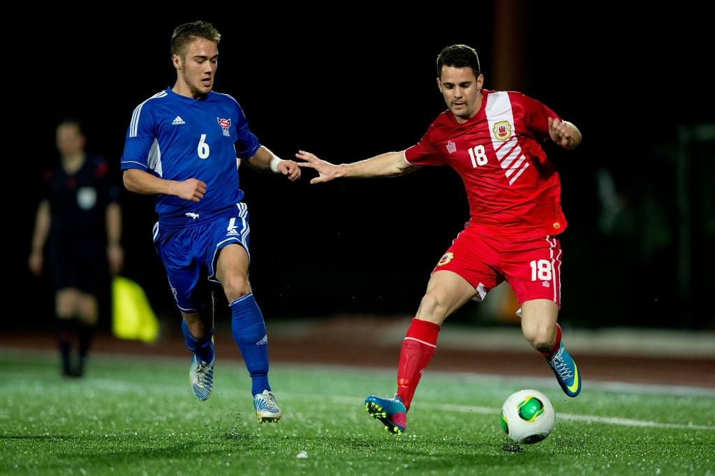 Färsaaret voitti juuri Gibraltarin 4-1 ja hakee hyvää itseluottamusta karsintoihin (Getty Images)