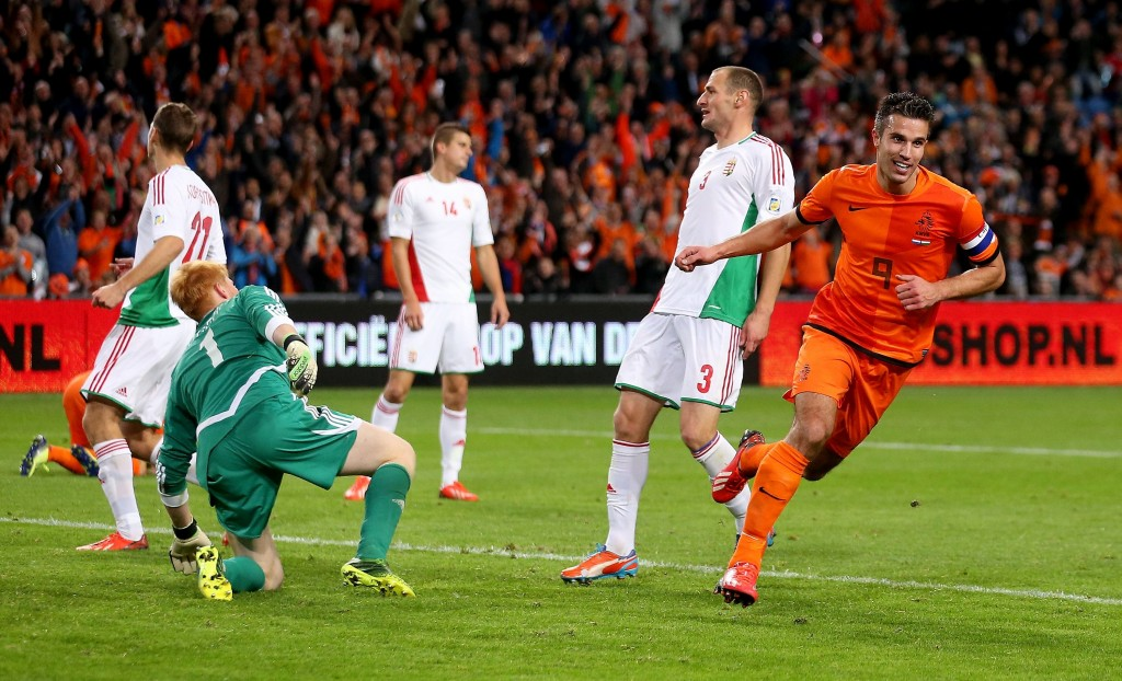 Hollanti murskasi Unkarin MM-karsinnoissa (Getty Images)