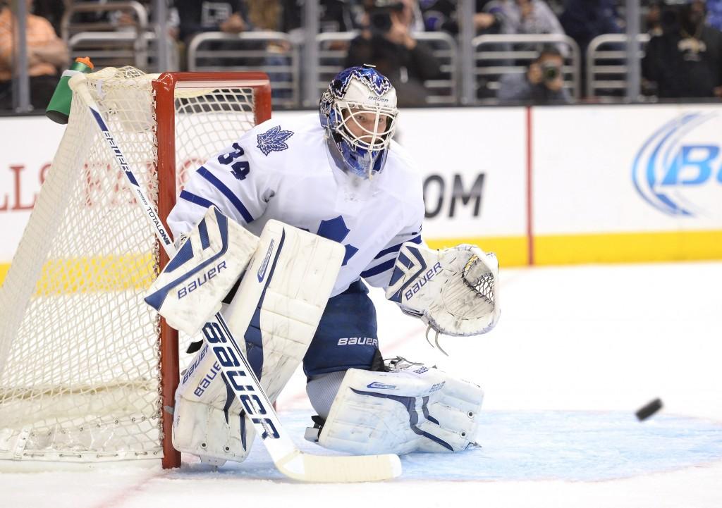 James Reimer ei pelaa riittävän hyvin viedäkseen Torontoa pudotuspeleihin (Getty Images)