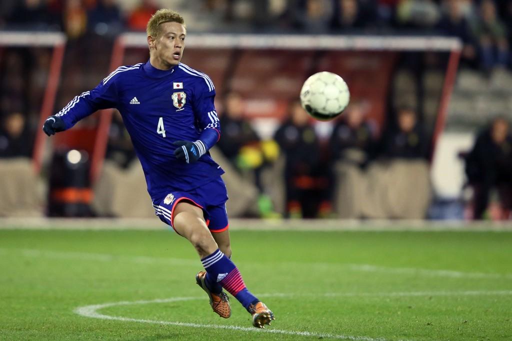 Keisuke Honda, jalkapalloilija Keisarin armosta (Getty Images)