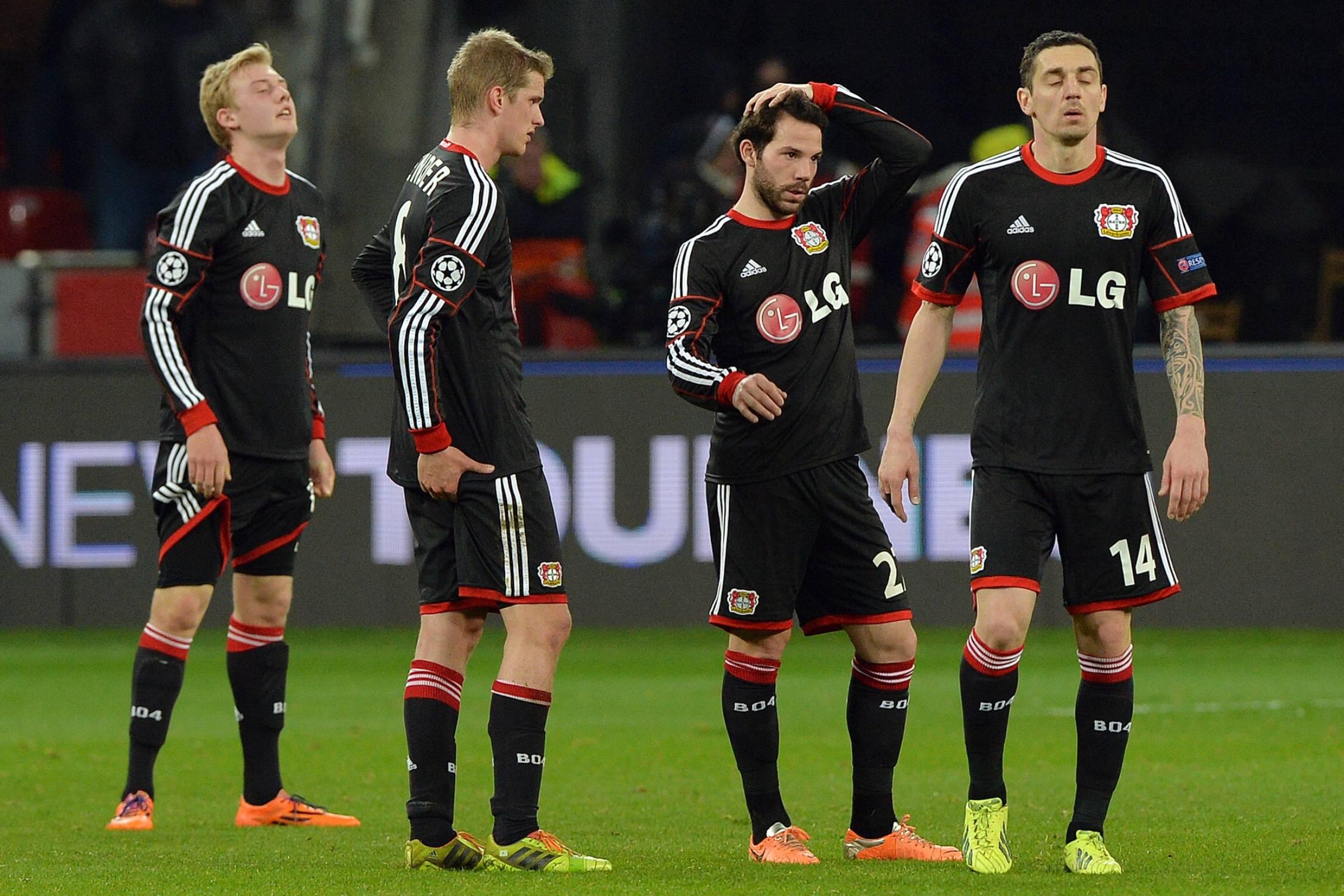 Leverkusenin meno ei ole ollut yhtä lennokasta kuin tämän illan vastustajien (All Over Press)