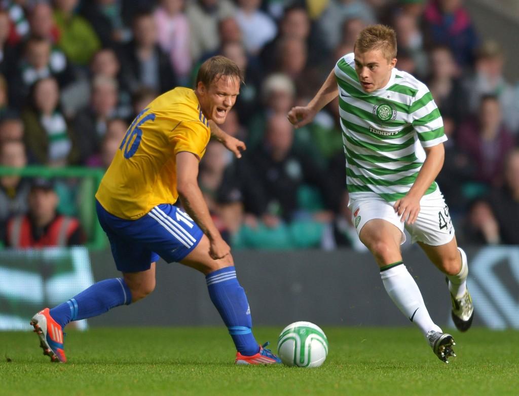 Mika Väyrynen liittyi HJK:hon Leedsista ja pääsi saman tien tositoimiin Mestarien liigaan (Getty Images)