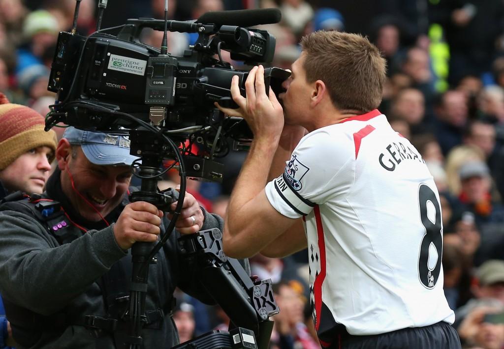 Gerrard on ensimmäinen avoimesti kameraseksuaali jalkapalloilija (Getty Images)