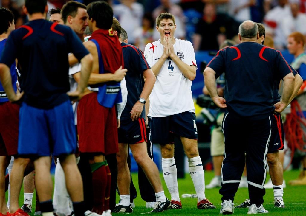 Gerrard on päässyt kokemaan epäonnistumisia urallaan (Getty Images)