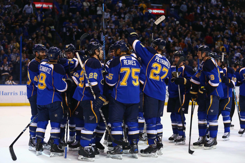Blues vahvisti Stanley Cup mahdollisuuksiaan (Getty)