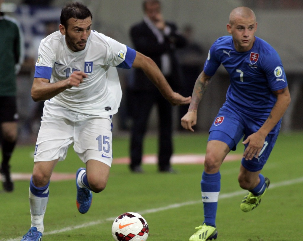 Greece v Slovakia - FIFA 2014 World Cup Qualifier