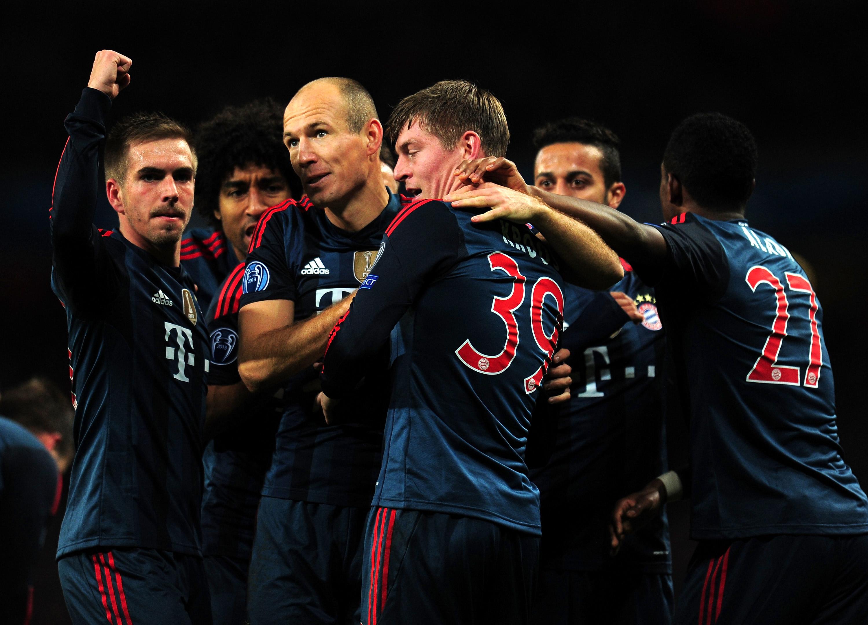 Bayern München on tällä hetkellä lähes pysäyttämätön (Getty)