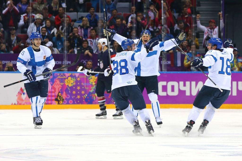 Olli Jokinen tulee olemaan suomen päällikkö tulevissa MM-karkeloissa. Myös Juuso Hietanen nähdään suurella varmuudella kisoissa. (Getty)