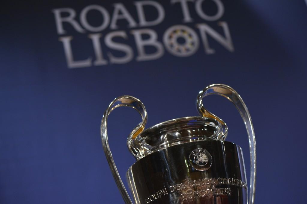 Matka Lissaboniin jatkuu Mestarien liigan välierien arvonnalla (Getty)