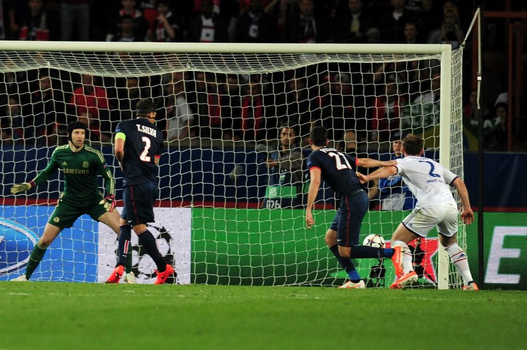 Javier Pastore iski lisäajalla pariisilaisten kannalta tärkeän 3-1 maalin (Getty)