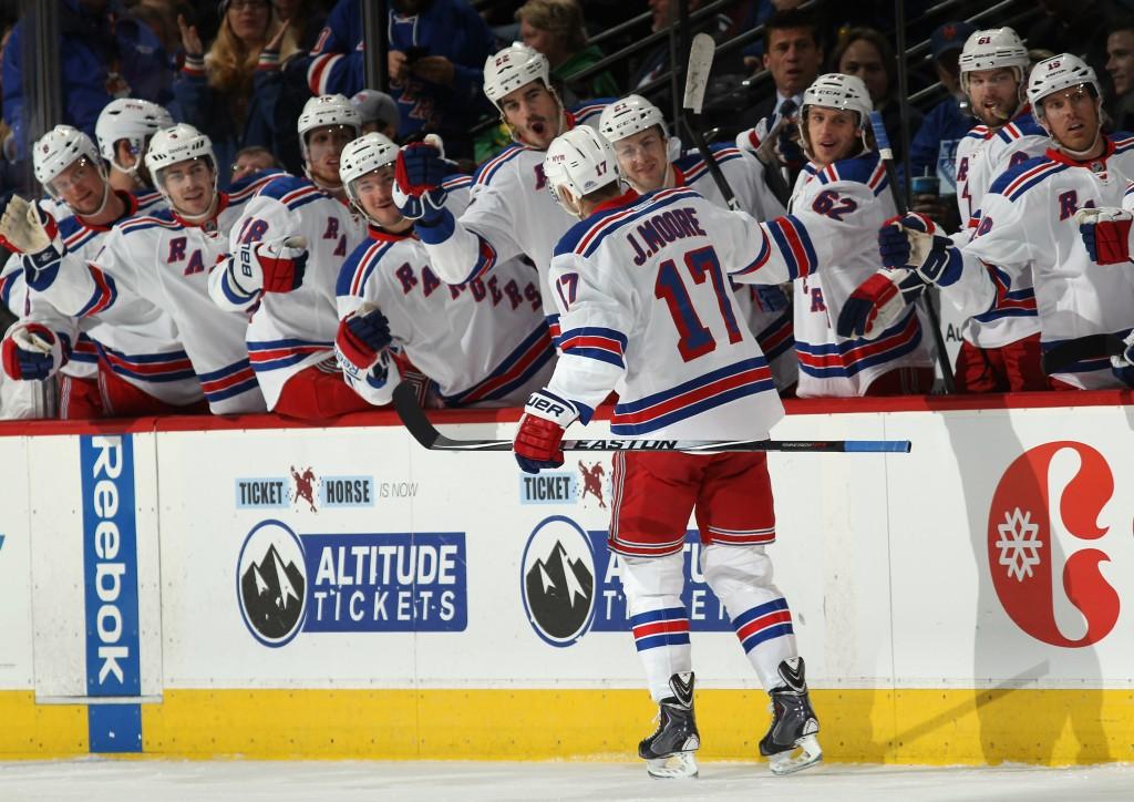 New York Rangers on tiukasti kiinni playoff-paikassa (Getty)