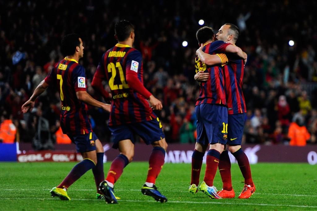 Messi on Barcalle kaikki kaikessa (Getty)
