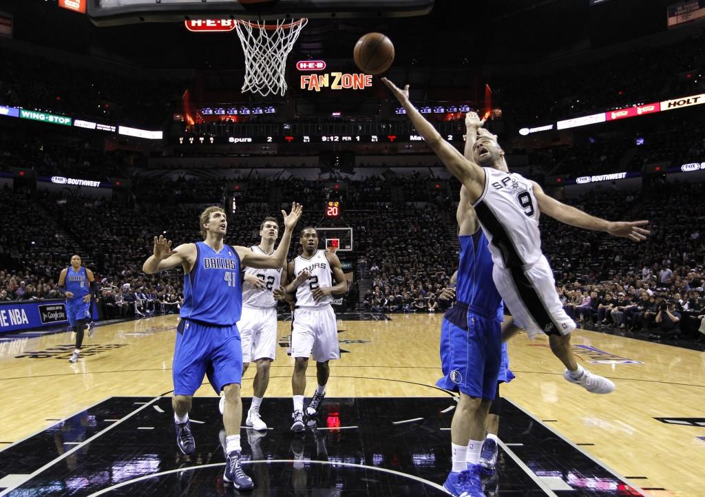 San Antonio Spurs sai vääntää tosissaan Tony Parkerin johdolla avausottelussa (Getty)