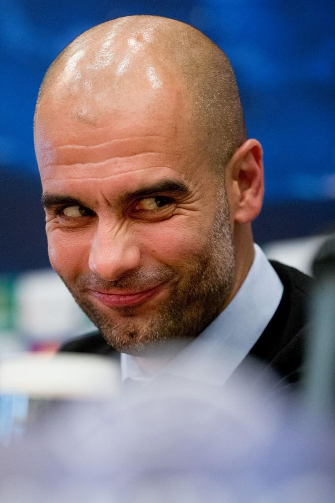 Pep Guardiola on voittamaton Bernabéulla (Getty)