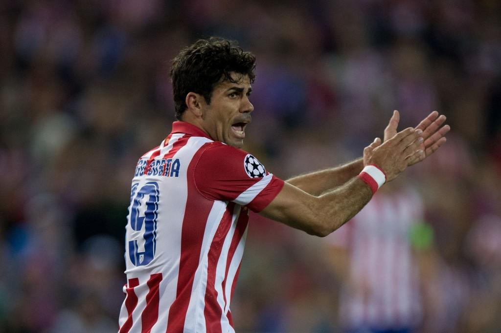 Diego Costa on huhupuheiden mukaan matkalla Lontooseen. (Getty)