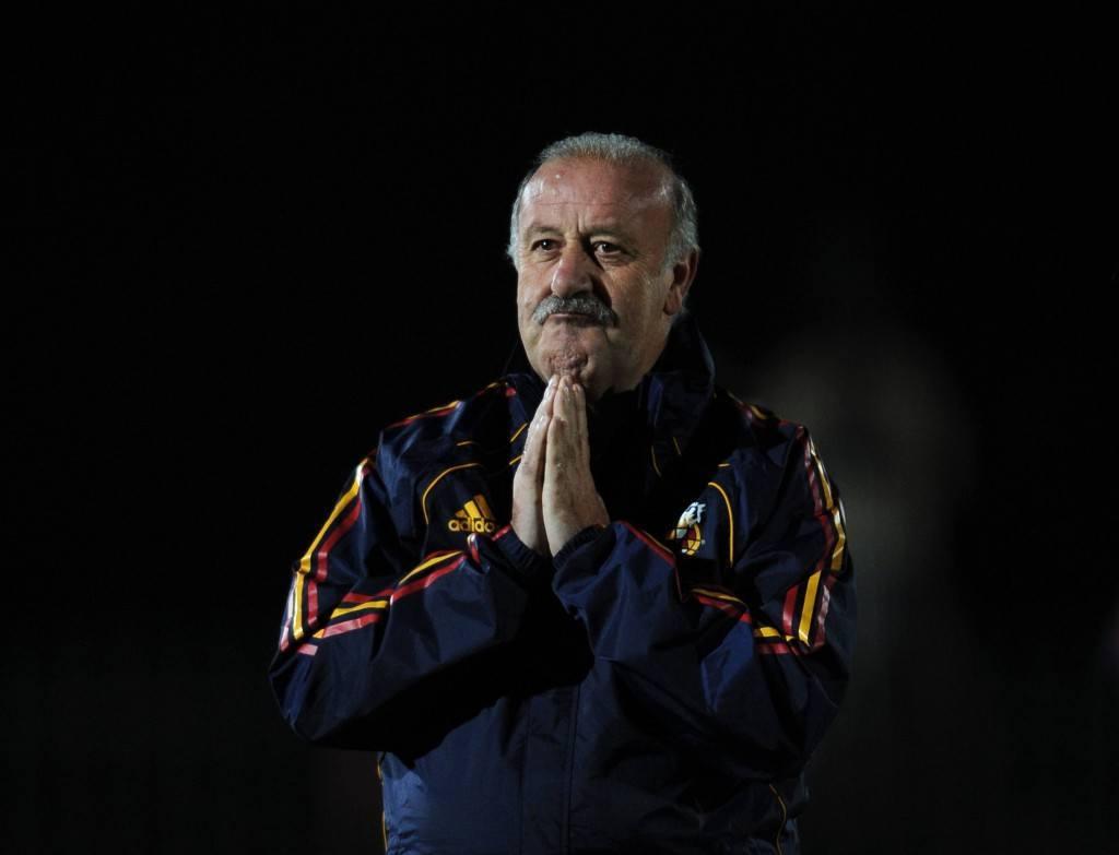 Kaiken urallaan voittanut mestarivalmentaja Del Bosque on julkaissut nimivahvan Espanjan alustavan kisajoukkueen (Getty)