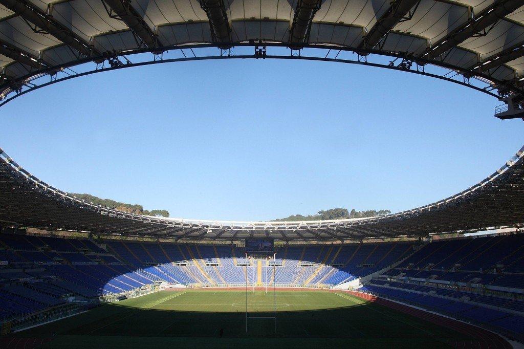 73000 paikkainen Rooman Olympiastadion isännöi tänään historian 63. cup-finaalia. Kuva: Getty