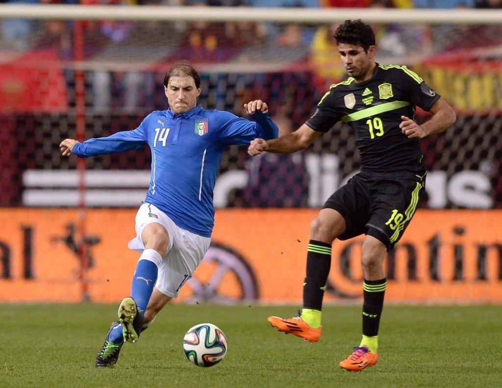Brasiliassa syntynyt Diego Costa edustaa maajoukkuetasolla Espanjaa (Getty)