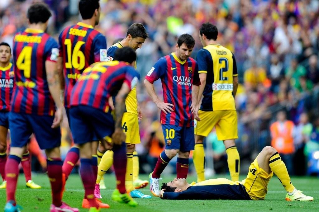 Ratkaisiko Costan loukkaantuminen Mestarien liigan finaalin jo ennen ottelun alkua? (Getty)