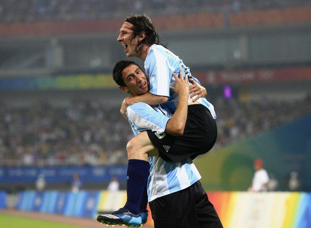 Real Madridin Angel Di Marialle (Messin alla) on tarjolla isoa roolia Argentinan keskikentällä (Getty)