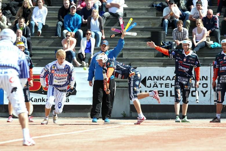 Vimpelin ykköslukkari Hannu Huuskonen on poissa kokoonpanosta pidemmän aikaa. Kuva: Juha Levonen