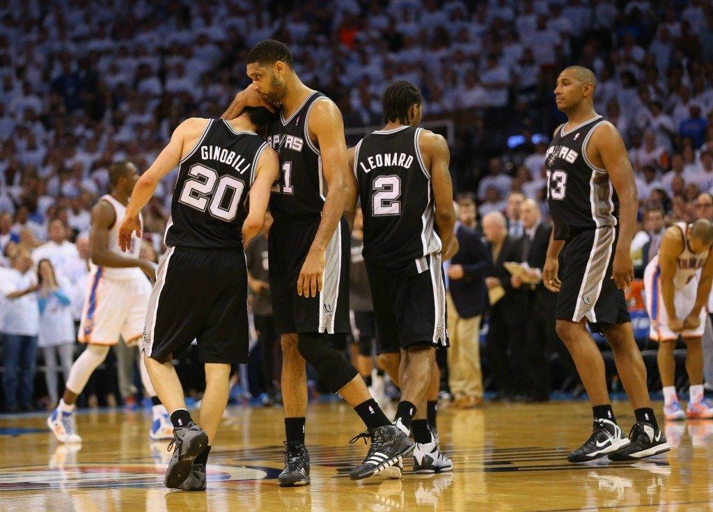 Spurs selvitti tiensä finaaleihin kaatamalla OKC:n (Getty)