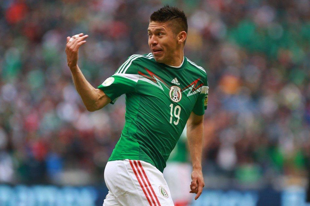 Oribe Peralta on yksi Meksikon tärkeimmistä pelaajista. (Getty)